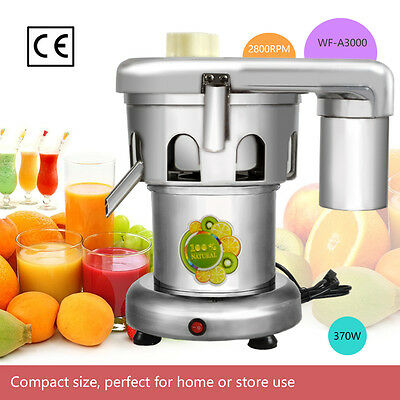 WF-A3000 Commercial Juice Extractor Stainless Steel Juicer - Heavy Duty  NEW