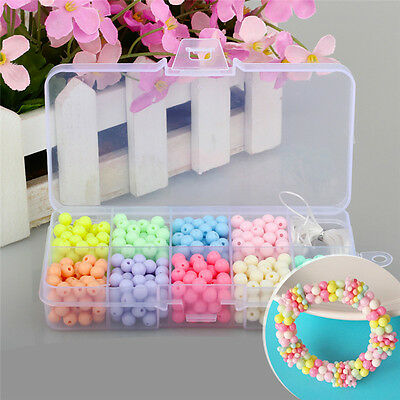 Material for Girls to Make Hand Chain Necklace bead+storage box+elastic thread