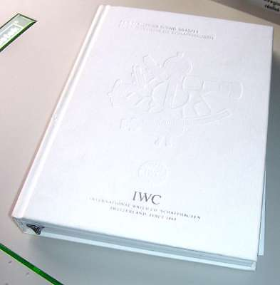 Catalogue IWC Schaffhausen - 2010/11 - 260p - Millaud - Montres - Free shipping