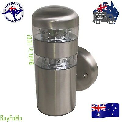 LED Modern stainless steel LED Exterior Decorative Garden wall light
