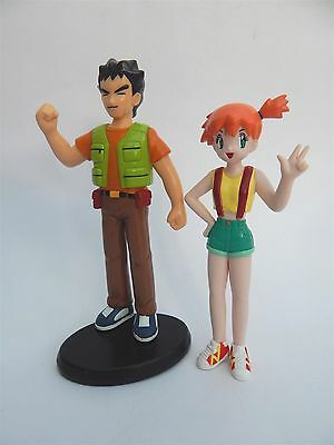Pokemon Brock And Misty Action Figures Tomy 1998