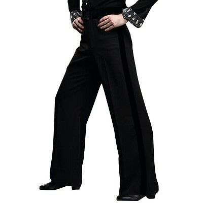 Men's Dance Pants Latin Samba Practice Trousers Ballroom Tango Stage Dancewear