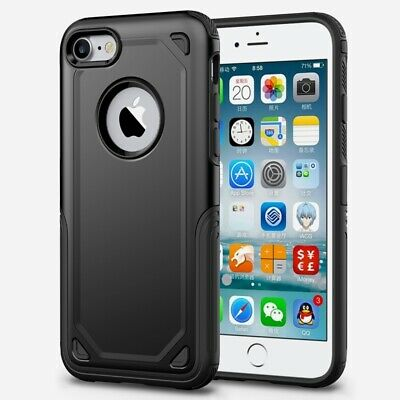 Armor Case for Apple iPhone 8, 7, SE 2020, Shockproof Heavy Duty Thin Back Cover