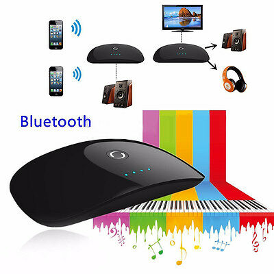 2in1 A2DP Wireless Bluetooth Transmitter and Receiver 3.5mm Stereo Audio Adapter