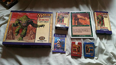 MAGIC THE GATHERING Starter Gift Box with VHS Tape 1999