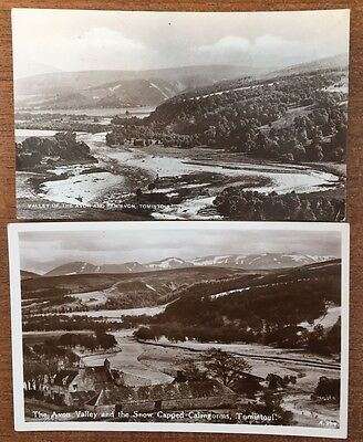 Tomintoul - 2 Postcards Of Avon Valley