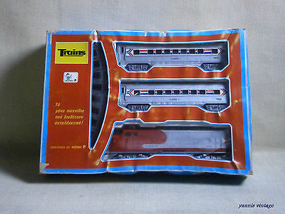 """ Train  "" NIB B/O MADE IN GREECE by Mister P NEW PLASTIC VINTAGE No 854"