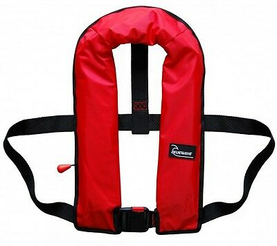 Bluewave Adult Automatic 150N Red Lifejacket - 2017 Stock! One size fits all.