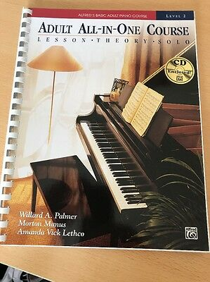 Alfred's Basic Adult Piano Course : Level 2 With CD