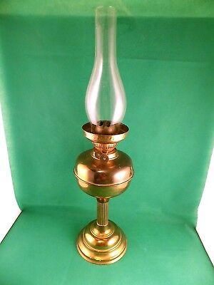 Vintage / Antique Large Oil Lamp
