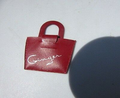 Vintage Cosmopolitan Ginger Doll Red Purse N/M Original 1950's HTF 8""
