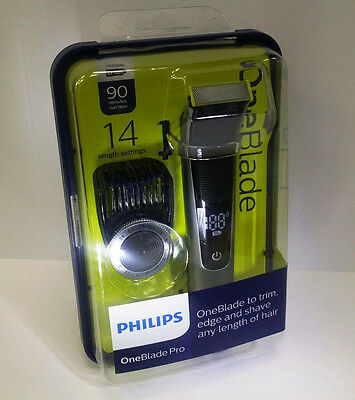 Philips OneBlade Pro Trim Edge Shave - QP6520/25