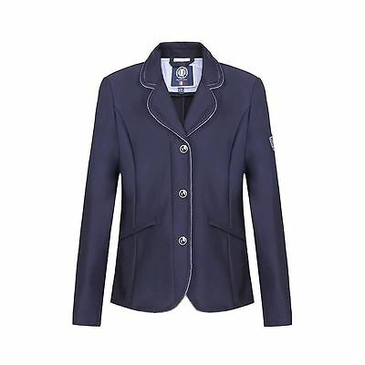 Harcour CELLA Child Competition Show Jacket - Navy XXS (10-12yrs)
