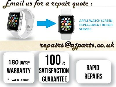 Apple Watch Cracked / Faulty Lcd & Touch Screen Repair Replacement Service In Uk