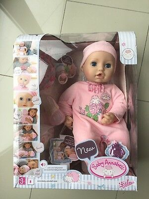 Baby Annabell Doll Zapf Creation - NEW read description version 10