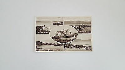 Scottish Black & White postcard. 4 views of Mallaig