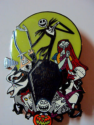 LE 100 Nightmare Before Christmas Disney Auctions  Pin HTF NBC