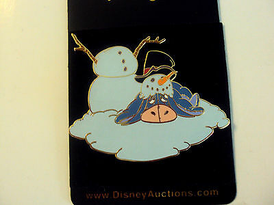 Eeyore Snowman LE  Disney Auctions Pooh and Friend