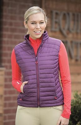 Shires Barcelona Padded Gilet- Ladies Equestrian Horse Riding Wear 9927
