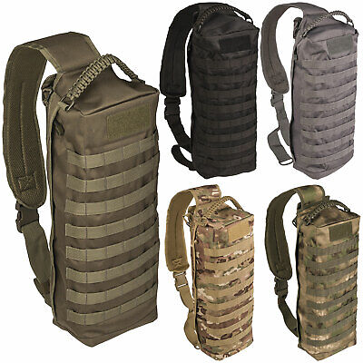 MIL-TEC Sling Bag Tanker viele Farben, Army Rucksack Outdoor Molle Umhängetasche