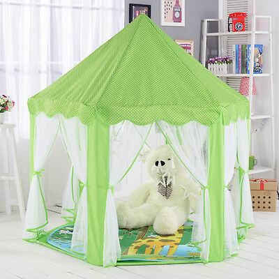 Beautiful Children Indoor Play Tent Castle Playhouse Tents for Kids Great Gift