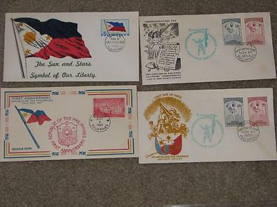 Philippines-Commemorating Declaration of Independence Covers