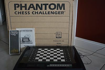 Vintage Fidelity Electronic Chesster phantom electronic chess computer Model6126