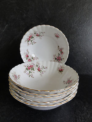 Royal Albert Lavender Rose 16cm dia Cereal / Dessert Bowls - Set of 6