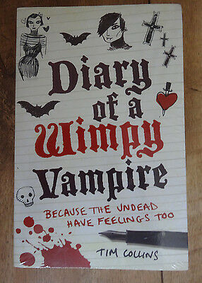 Diary of a Wimpy Vampire/werewolf -  book set - New sealed