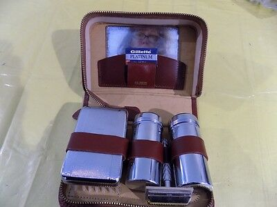 Vintage Gillette Shaving Kit, Made in England