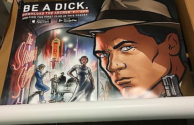 "US001 8 pieces FX animated Archer Dreamland giant movie poster 72""x48"" BULK LOT"
