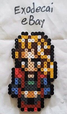 Daryl Darill Final Fantasy Vi Bead Sprite Perler Art Retro Nintendo Snes Square