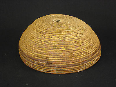 An Ancient Kawaiisu Hat Basket, Native American Indian, Circa: 1870