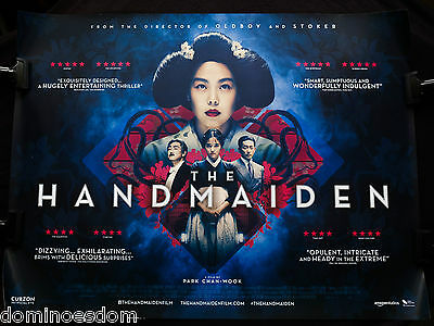 The Handmaiden 2016 – Original Uk Quad Double Sided Film Poster - Collectable