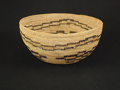 A Finely Woven Mono Paiute basket, Native American Indian basket, circa: 1910