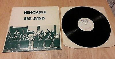 Newcastle Big Band 1st press vinyl LP VG+/VG+ Sting Private Press Signed 1972