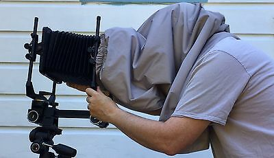 4x5 cloth focus hood for large format camera