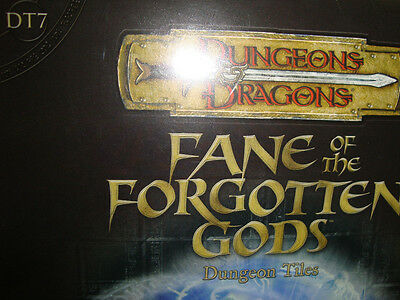 NEW!  FANE OF THE FORGOTTEN GODS DT 7 DUNGEON TILES Dungeons and Dragons  3.5