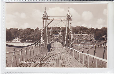 Rare Vintage Postcard Looking up the Pier, Seaview, Isle of Wight. Chain Pier