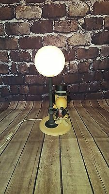 Vintage Retro Old 1960's 1970's Snoopy Gentleman Desk Table Light Lamp