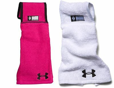 Under Armour UA Undeniable Football Player Hand Towel New 1260794 White Or Pink