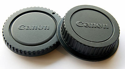 Camera Body + Rear Lens Cap Cover for Canon E0S 1100D 600D 60D 550D 5D UK Stock