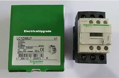 Schneider Electric Offer (LC1D38U7) 3 Pole Contactor ; 18.5kW  ; 240V AC Coil