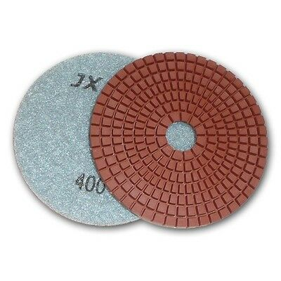 "3"" JX Shine Diamond Polishing Pad - 400 Grit"
