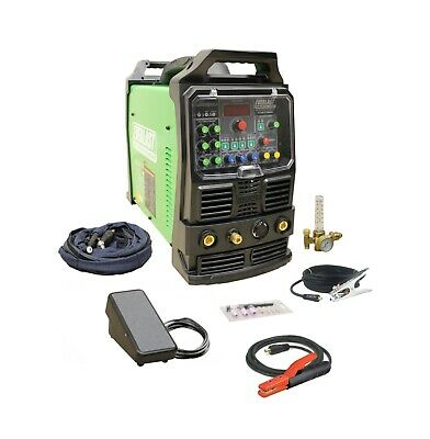 PowerTIG 250EX GTAW-P 250AMP ACDC TIG STICK  PULSE WELDER by EVERLAST