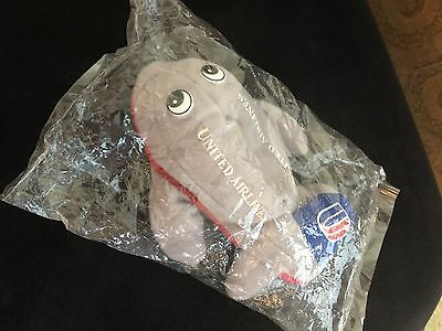 United Airlines Soft Toy Airplane