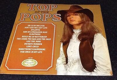 Top Of The Pops CHM 620 1969 Vinyl LP Hallmark Album