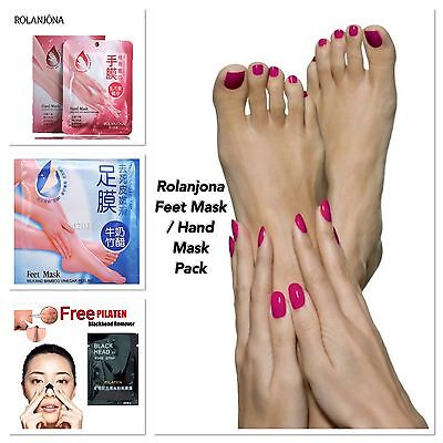 Feet Hand Mask Exfoliating Foot Sock Type Baby Soft Peel  Dead Skin Callus Pack