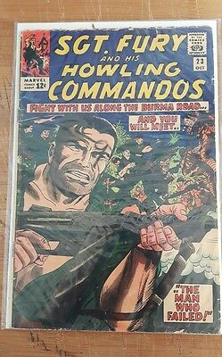 Sgt. Fury and his Howling Commandos #23 early Nick Fury