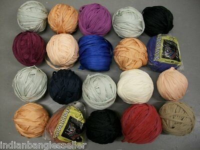 20 Nylotex Balls Yarn QualiCraft Weaving Knitting Loom Lot 6